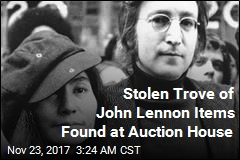 Stolen Trove of John Lennon Items Found at Auction House