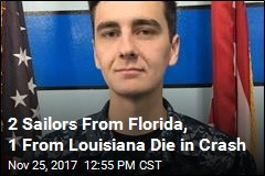 2 Sailors From Florida, 1 From Louisiana Die in Crash