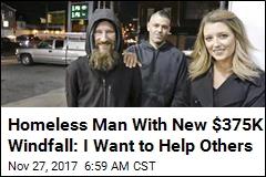 Homeless Vet Who Helped Stranded Driver Reaps $375K