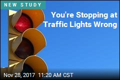 You're Stopping at Traffic Lights Wrong