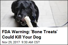 FDA Warning: 'Bone Treats' Could Kill Your Dog