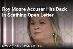 Accuser Fires Back at Roy Moore