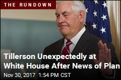 NYT Reports There's a Plan to Boot Tillerson
