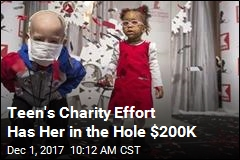 Teen's Charity Effort Has Her in the Hole $200K