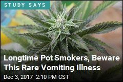 Longtime Pot Use Linked to Rare Vomiting Ailment