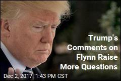 Trump on Flynn: 'No Collusion ... We're Very Happy'