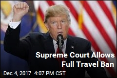Supreme Court Allows Full Travel Ban