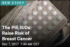 The Pill, IUDs Raise Risk of Breast Cancer