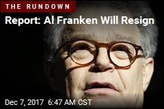 Report: Al Franken Will Resign