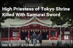High Priestess of Tokyo Shrine Killed With Samurai Sword