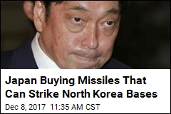 Japan Buying Missiles That Can Strike North Korea Bases