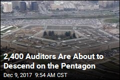 For 1st Time Ever, Pentagon Is Getting Audited