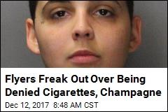Blocked From Smoking, Flier Threatened to 'Kill Everybody'