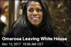Omarosa Leaving White House