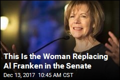 This Is the Woman Replacing Al Franken in the Senate