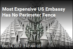 Most Expensive US Embassy Has No Perimeter Fence