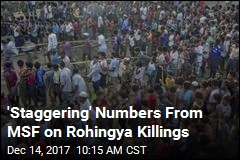 MSF: 6.7K Rohingya Killed in One Month