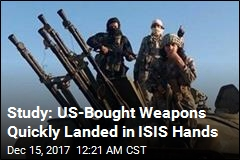 US-Bought Weapons Found in ISIS Arsenal