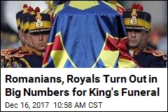 Romanians, Royals Turn Out in Big Numbers for King's Funeral