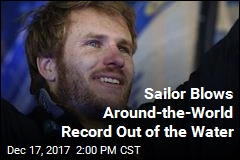 Sailor Blows Around-the-World Record Out of the Water