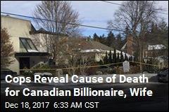 Homicide Squad Takes Lead in Billionaire Death Case
