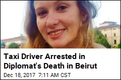 Taxi Driver Arrested in Diplomat's Death in Beirut