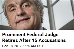 Prominent Federal Judge Retires After 15 Accusations