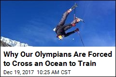 Why Our Olympians Are Forced to Cross an Ocean to Train