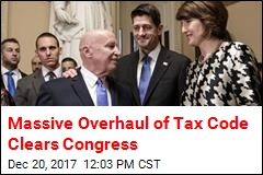 House Sends Tax Bill to Trump's Desk