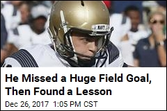 He Missed a Huge Field Goal, Then Found a Lesson