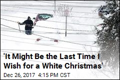 Erie's White Christmas Was Really, Really Really White