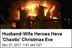 Husband-Wife Duo Pull Off 2 Separate Holiday Rescues