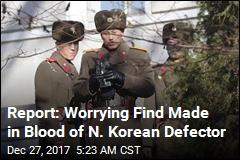 Report: N. Korea Defector Is Immune to Anthrax