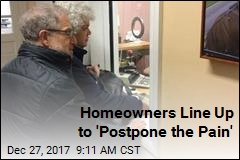 Homeowners Line Up to 'Postpone the Pain'
