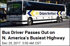 Passenger Saves Bus After Driver Passes Out