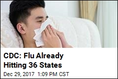 CDC: Flu Already 'Widespread' in Majority of States