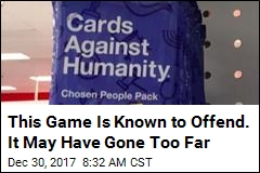 This Game Is Known to Offend. It May Have Gone Too Far