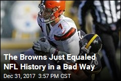 Cleveland Browns Just Managed to Go 0-16