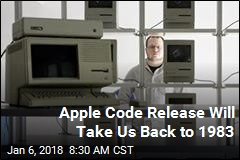 Apple Code Release Will Take Us Back to 1983