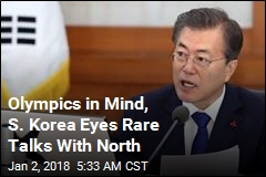 Olympics in Mind, S. Korea Eyes Rare Talks With North
