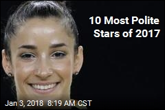10 Politest Stars of 2017