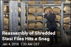 Reassembly of Shredded Stasi Files Hits a Snag
