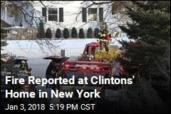Secret Service Building Fire at Clintons' Home Extinguished