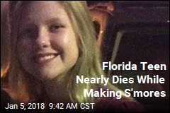 Florida Teen Nearly Dies While Making S'mores
