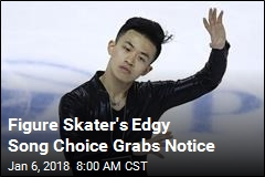 Figure Skater's Edgy Song Choice Grabs Notice