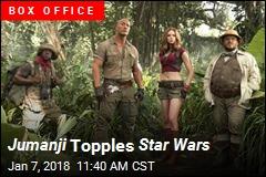 Jumanji Topples Star Wars
