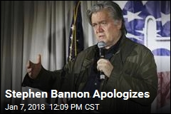 Stephen Bannon Regrets Comments About Trump Jr.