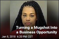 Hairdresser Uses Mugshot to Promote Her Business