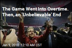 Alabama Beats Georgia for National Title