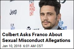 James Franco Denies Harassment Allegations